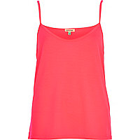 Bright pink cami top