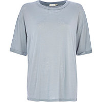 Light grey oversized t-shirt