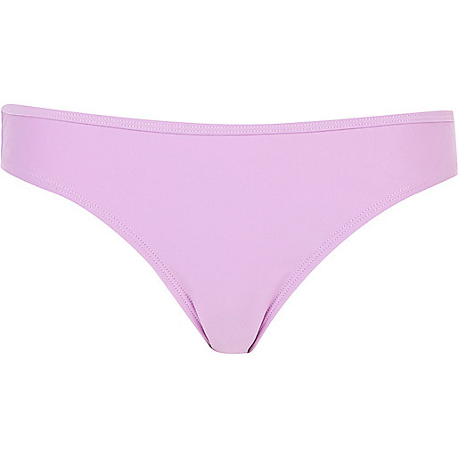 Light purple bikini bottoms