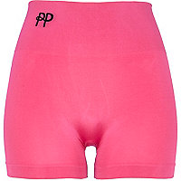 Pink Pretty Polly body shaper short tights