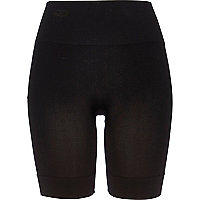 Black Pretty Polly long body shaper shorts