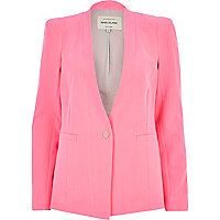 Light pink tailored blazer