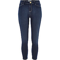 Dark wash Molly reform capri jeggings