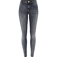 Dark grey washed Molly jeggings