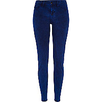 Blue acid wash Molly reform jeggings