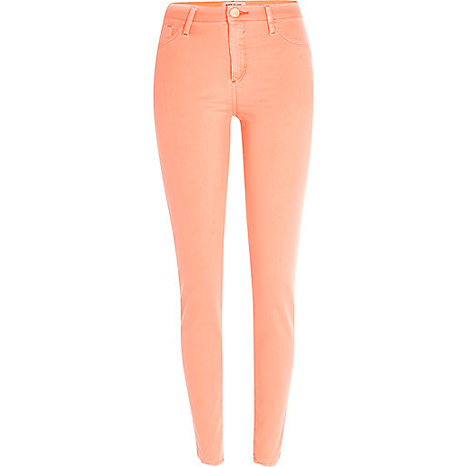 Orange Molly jeggings