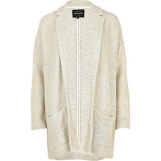 gold thread coat