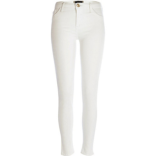 White reform Amelie superskinny jeans