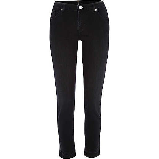 Black Eva girlfriend jeans