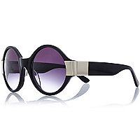 Black Vow London round sunglasses