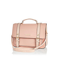 Pink large satchel
