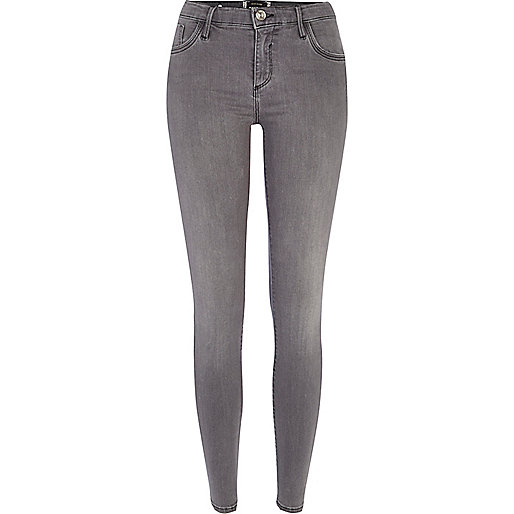 Grey Amelie superskinny reform jeans