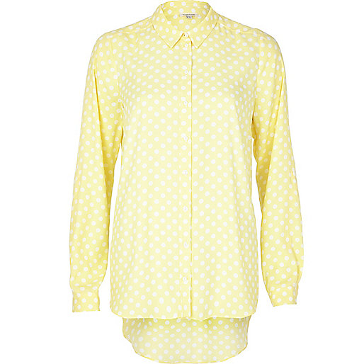 river island spotty shirt