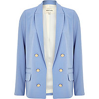 Light blue relaxed fit blazer