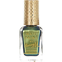 Arabian green Barry M aquarium nail varnish