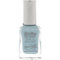 Huckleberry blue Barry M gelly nail varnish
