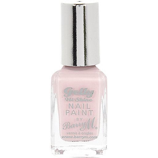 Rose Hip pink Barry M Gelly nail polish