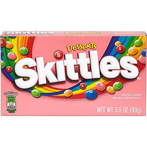 Skittles dessert sweets