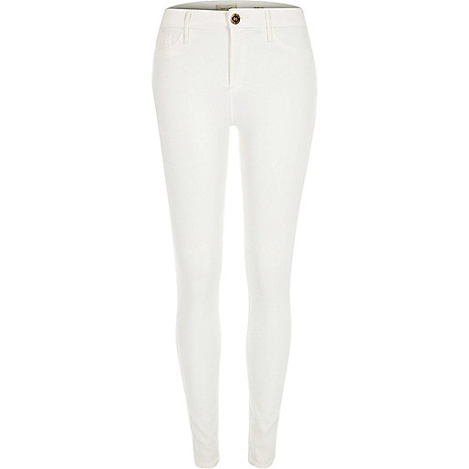 White Molly reform jeggings