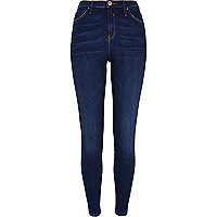 Dark wash premium Lana superskinny jeans
