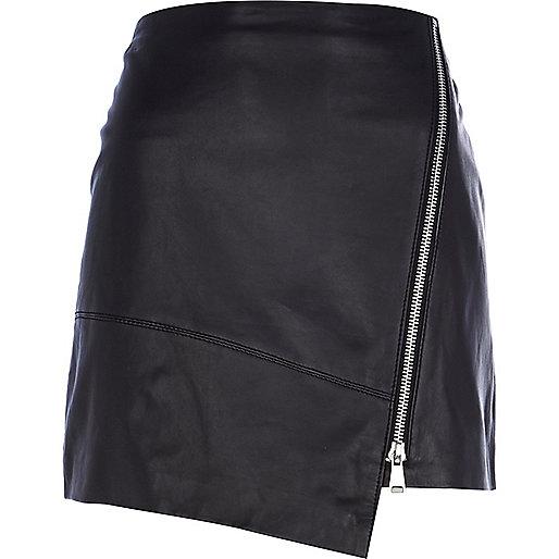 black leather wrap mini skirt mini skirts skirts