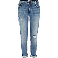 Light wash Ashley slim boyfriend jeans