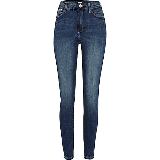 Dark wash Lana superskinny jeans