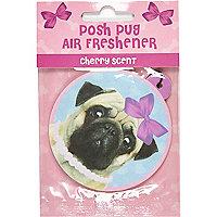 Posh Pug air freshener