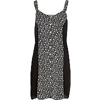 Black Chelsea Girl heart print dress