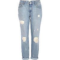 Light wash ultimate boyfriend jeans