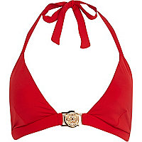 Red Lion emblem bikini top