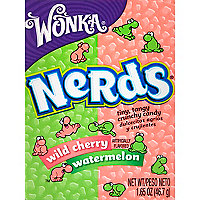 Watermelon and cherry Nerds