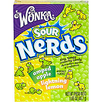 Apple and lemon sour Nerds sweets