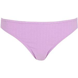 Lilac textured bikini bottoms