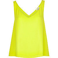 Lime wrap back vest