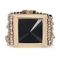 Gold tone diamante bracelet