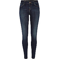 Dark wash Amelie superskinny reform jeans