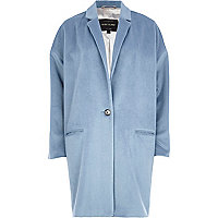 Light blue oversized coat