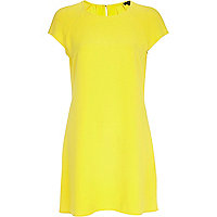 Yellow swing dress