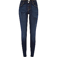Dark wash Jenna straight jeans