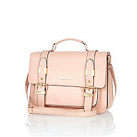 Light pink large satchel
