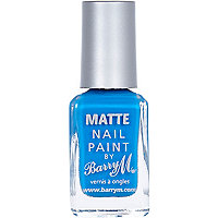 Malibu Barry M matte nail varnish