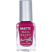 Rhossili Barry M matte nail varnish