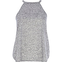 Grey neppy racer front top