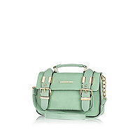 Green mini satchel