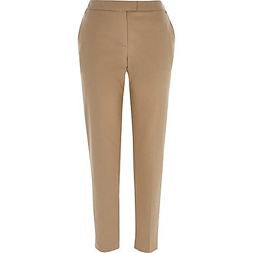 Camel slim cigarette pants