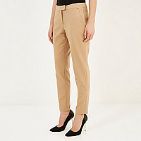 Camel slim cigarette pants