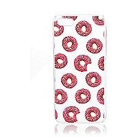 Pink doughnut print iPhone 5C case