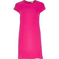 Fuchsia swing dress