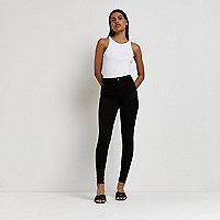 Molly – Schwarze formende Jeans